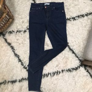 Madewell High Rise Skinny Jeans Sz 28